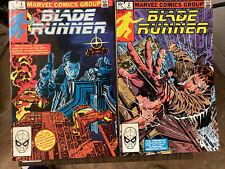 New listing Blade Runner #1 Marvel 1982)💥 Nm! High Grade! And #2!