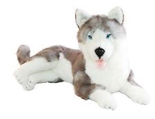 "BNWT - Bocchetta Siberian Husky Dog Lying ""Rocco"" Plush Toy 62cm/24inch"