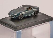 Jaguar F Type in British Racing Green-Échelle 1/76 Modèle OXFORD DIECAST