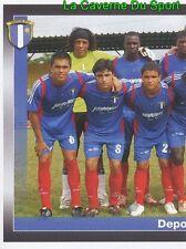 347 TEAM SQUADRA 1/2 DEPOR.FC STICKER PANINI COLOMBIA PRIMERA 2008