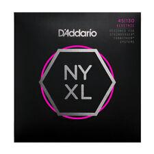 D'Addario NYXL Bass Guitar Strings for Double Ball end Steinberger gauges 45-130