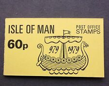 ISLE OF MAN 60p STAMP BOOKLET YELLOW COVER  SG5810 MILLENIUM OF TYNWALD MINT
