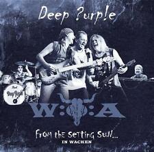 From The Setting Sun...(In Wacken) von Deep Purple (2015), Neu OVP, 2 CD & DVD