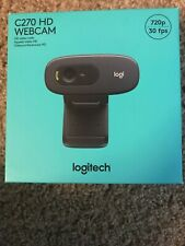 NEW Logitech C270 HD Webcam 720p **In Hand Ready To Ship Next Day Of Purchase**