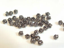 40 pcs x Gunmetal Plated Washer Spacer Beads : AB846 GM