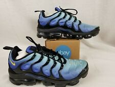 Nike Air Vapormax Plus Hyper Blue Black Yellow 924453-008 Men's Shoes Size 10.5