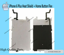 """For iPhone 6 Plus 5.5"""" New LCD Metal Back Plate With Home Button Extend Flex"""