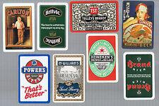 Playing Swap Cards 20  VINT & SEMI  VINT  WORLD  MIXED DRINK ADVTS  #BULK15