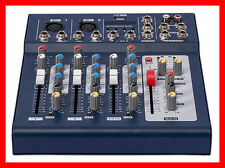 Mixer 4 channel sound mixing console home karaoke system F4