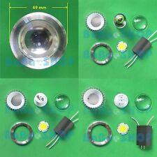 3W 5W 7W Alta Potencia LED Lámpara Bombilla Spot chip-on-board E27 GU10 Kit de MR16 Hágalo usted mismo D49