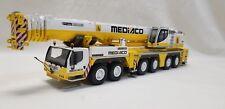 WSI 1:50 Scale Liebherr LTM 1350-6.1 Diecast All Terrain Crane Mediaco Color
