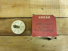 Lucas 54702982 Wiper Motor Gear