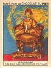 Indochine Française S M Bao Daï Empereur d'Annam Vietnam ASIE IMAGE CARD 1938