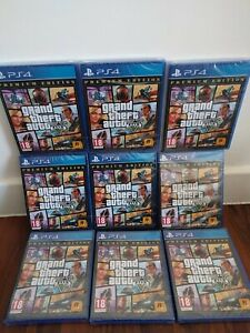 Grand Theft Auto V PREMIUM EDITION PS4 GAME NEW & SEALED Incl GTA 5 Online