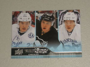 2014-15 Upper Deck Young Guns Checklist #500 Drouin / Pouliot / Horvat