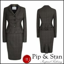 Wool Check Business Regular Suits & Tailoring for Women