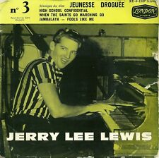 EP FRENCH  biem JERRY LEE LEWIS 1960