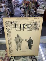 "Antique LIFE MAGAZINE October 1899 ""Life's Fashions For 1900."" Ex Condition"