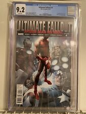 Marvel Ultimate Fallout 4 CGC 9.2 1st App Miles Morales Marvel Comics🔥🕷🕸🔥