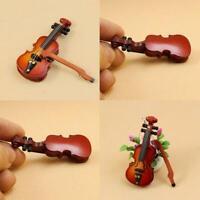 Puppenhaus 1:12 Mini Violine Instrumente Für Puppenzubehör Raumszene Spie Beste