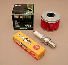 Honda TRX300EX Tune Up Kit NGK DR8ES-L Spark Plug & HIFLO Oil Filter TRX 300EX
