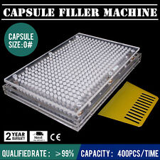 CAPSULE FILLING MACHINE IMPROVED DESIGN SEMI-AUTOMATIC SMALL MANUFACTURE UNIT