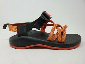 Chaco ZX1 Childrens Hiking Sandals Size 2 Orange Waterproof Outdoor Shoes