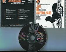 Jazz im Amerika Haus Vol. 1 cd HARRY ALLEN QUARTETT © 1994 nagel-heyer 10-track