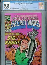 1985 MARVEL SUPER HEROES SECRET WARS #12 CANADIAN PRICE VARIANT CPV CGC 9.8 1OF2