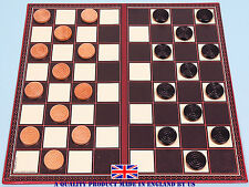 Draughts Set With Folding Board - Ref: 00316