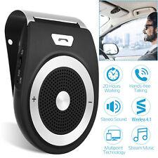 Wireless Car Kit Handsfree Auto Speakerphone Speaker Phone Visor