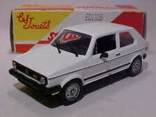 3.5 INCH  Volkswagen Golf I GTI 1974 Solido 1/43 Diecast Mint Numbered Box