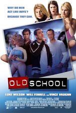 OLD SCHOOL MOVIE POSTER  2 Sided RARE ORIGINAL INTL 27x40 WILL FERRELL
