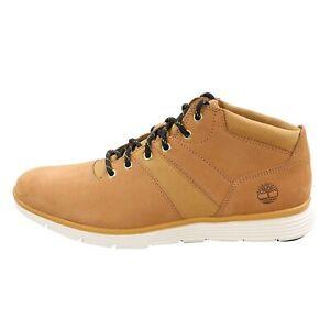 TIMBERLAND Herren Leder Sneaker KILLINGTON Gelb Nubuck Gr. 43