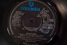 "On The Scene Various Artists Yardbirds Vinyl EP 7"" Mono Piranha Records"