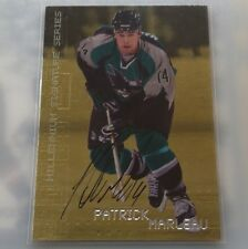 99/00 Be A Player Millenium PATRICK MARLEAU Sharks Certified GOLD Auto #210
