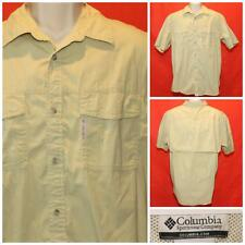 "Columbia UPF Vented Back Fishing Shirt  XL 25"" Pit2Pit  JL-015"