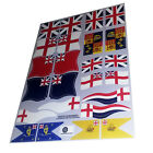 Banderas navales Británicas - British navy flags - Playmobil's Custom Stickers