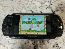 Black Sony PSP 3000 Games Included On 32GB Memory Stick
