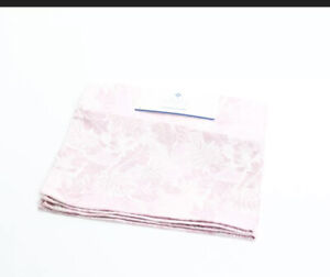 Ryan Seacrest Distinction Mens Pocket Square Pink Patterned Paisley Silk $35 469