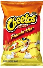 3 x Cheetos Crunchy Flaming Hot 226.8g Bag Flamin' Hot ..
