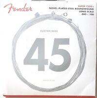 Jeu de cordes basses FENDER 7250ML 45 à 100 nickel - 0737250405 - guitare basse
