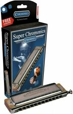 270X 270/48 Key F Super Chromonica Chromatic Harmonica /Hohner