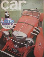 CAR 09/1969 featuring Jensen Interceptor, Excalibur, Ford Mustang, AMC Javelin