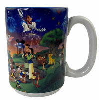 Walt Disney World Celebrate The Future Hand In Hand Coffee Cup Mug