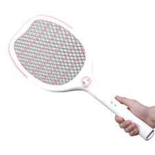 Electric USB LED Mosquito Fly Swatter Zapper Killer Bug Pest Insect Wasp Racket