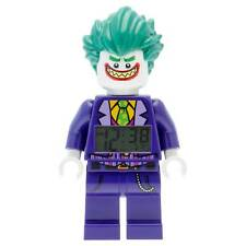 JOKER ALARM CLOCK lego legos NEW minifigure minifig dc BATMAN movie mini figure