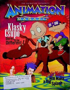 Vintage 1998 October Animation Magazine Klasky Csupo Rugrats Nickelodeon 14A1085