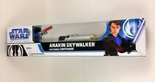 Star Wars The Clone Wars Force Action Anakin Skywalker Electronic Lightsaber Mib