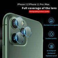 For iPhone 11 Pro Max Camera Tempered Glass Protector Film Protective Lens Cover